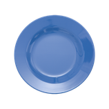 Rice - Melamine Round Side Plate, New Dusty Blue