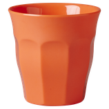 Rice - Medium Melamine Cup, Neon Orange