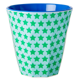 Rice - Melamine Cup Two Tone, Star Print