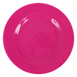 Rice - Melamin Dinner Plate, Fuchsia
