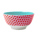 Rice - Melamine Bowl Two Tone with Girl Star Print