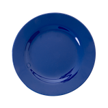 Rice - Melamine Round Side Plate, Navy Blue