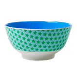 Rice - Melamine Bowl Two Tone, Star Print