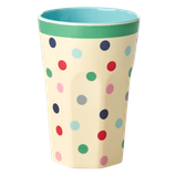 Rice - Tall Melamine Cup, Believe in Red Lipstick