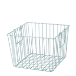 Rice - Square Wire Basket with Handle