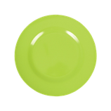 Rice - Melamine Round Side Plate, Green