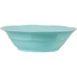 Rice - Melamine Soup Bowl, Dark Mint