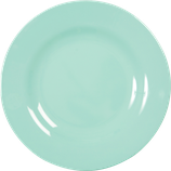 Rice - Melamin Dinner Plate, Dark Mint