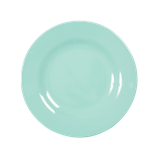 Rice - Melamine Round Side Plate, Dark Mint
