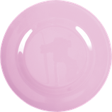 Rice - Melamin Dinner Plate,  Dark Pink