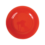 Rice - Melamine Round Side Plate, Red