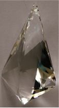 Feng Shui Kristall DOPPELKRISTALL 80mm