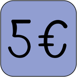 Don ponctuel de 5 €euros