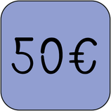 Don ponctuel de 50 €uros