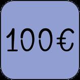 Don ponctuel de 100 €uros