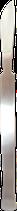 Edelstahl Fußpflegeschaber 16,5cm Lang