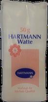 Hartmann 100% Natur Baumwollwatte 50 g