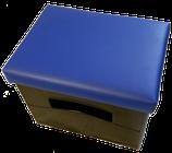 Getränkekisten-Kissen Uni-blau