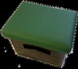 Getränkekisten-Kissen Uni-grün