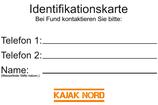 Identifikationskarte Boot