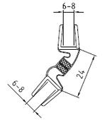 Magnetleisten-Set 135°