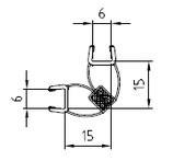 Magnetleisten-Set 90°