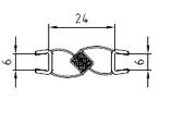 Magnetleisten-Set 2 - 180°