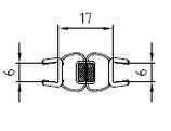 Magnetleisten-Set - Tür in Nische