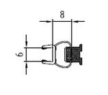 Magnetleisten-Set für Türen zu Seitenwand