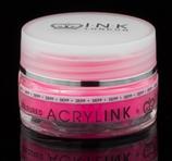 Coloured Powder - Depp Neon Pink Glitter