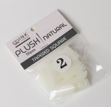 Plush Tips - Natural - Refill Size 2