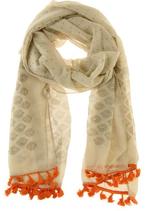 Sjaal - Baroque Taupe-Oranje