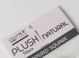 Plush Tips - Natural - Refill Size 3