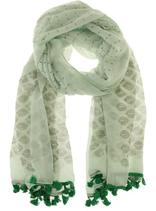 Sjaal - Baroque Mint-Groen