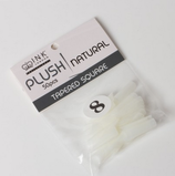 Plush Tips - Natural - Refill Size 8