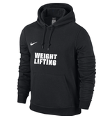 Team Club Weightlifting Hoody - schwarz