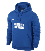 Team Club Weightlifting Hoody - blau