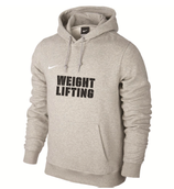 Team Club Weightlifting Hoody - grau