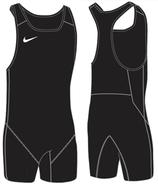 Nike Weightlifting Singlet - schwarz