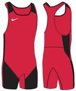 Nike Weightlifting Singlet- rot