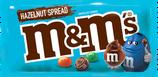 M&M's Hazelut spread