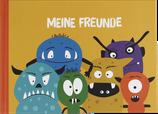 Schul Freundebuch MONSTER