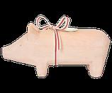 Holzschwein rosa GROSS