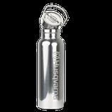 Wasserflasche Stahl 0,5l