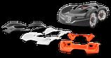 Wechselcover grau, weiß, orange Automower 435X AWD