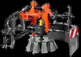 Wildkrautbürste für Frontmäher P525D, P525D mit Kabine, P520D