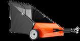 Rasenkehrmaschine Rider und Gartentraktoren