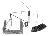 Flexibles Flächenbegrenzungskit Automower