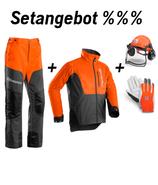 Setangebot Classic Hose, Jacke, Helm, Handschuhe
