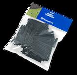Klammer Kunststoff 100 Stück Blisterpack